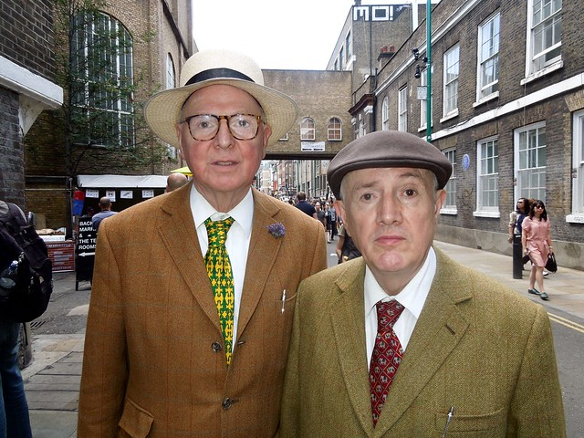 Gilbert & George, Brick Lane, London E1