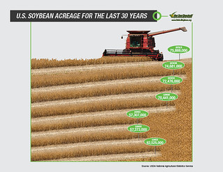 Soybean Acreage Infographic | by UnitedSoybeanBoard