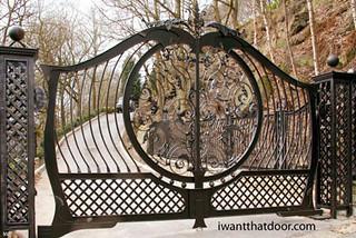 desain pintu gerbang rumah mewah dan unik terkini (3)   flickr