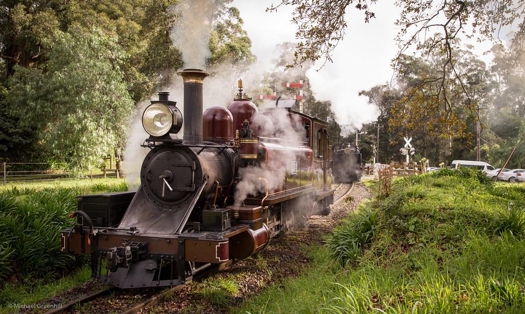Drifting steam by michaelgreenhill