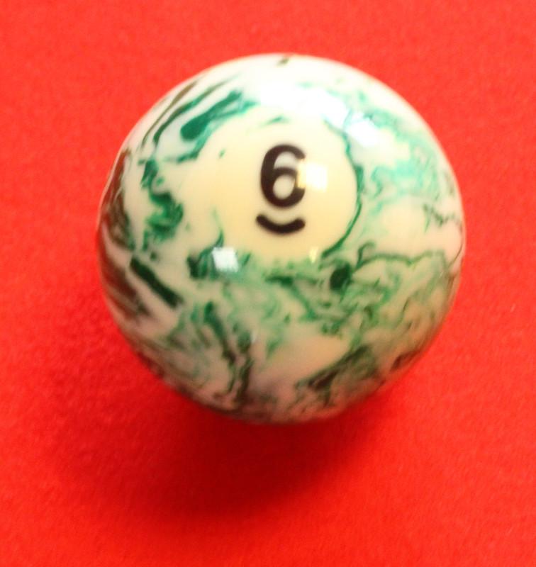 Pool Ball No. 6