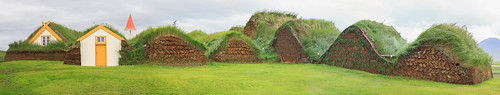 Icelandic turf houses | by Michael Ransburg