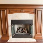 Statement fireplace. Check.