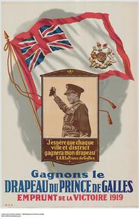 Win the Prince of Wales flag, 1919 Victory Loan / Remportons le drapeau du prince de Galles – L'Emprunt de la Victoire 1919