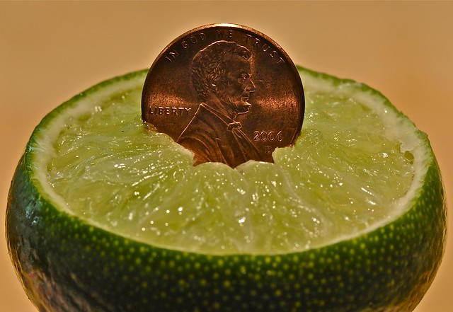 Lincoln on a Lime