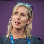 Lauren Child at the Edinburgh International Book Festival |