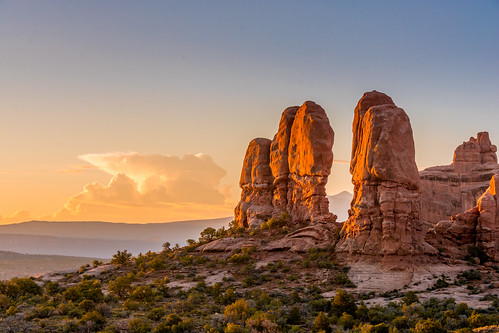 park sunrise landscape utah nationalpark nikon sandstone desert arches national redrock archesnationalpark 18200mm d7100