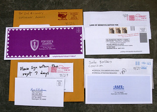 Engage Direct Mail junk mail | by Judith E. Bell
