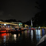 09 Viajefilos en Singapur, Clark QUay noche 02