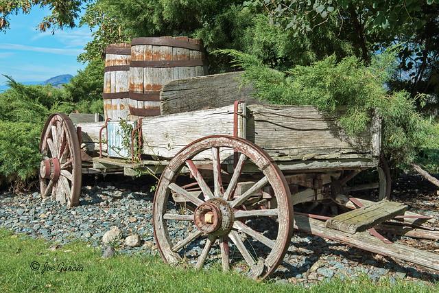 The Wagon At See Ya Later Ranch