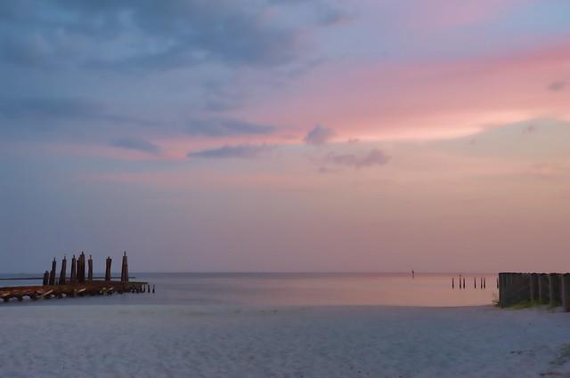 Soft Sunset in Biloxi
