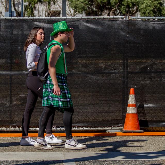 SF St. Patricks Parade 2017: awash mix-up