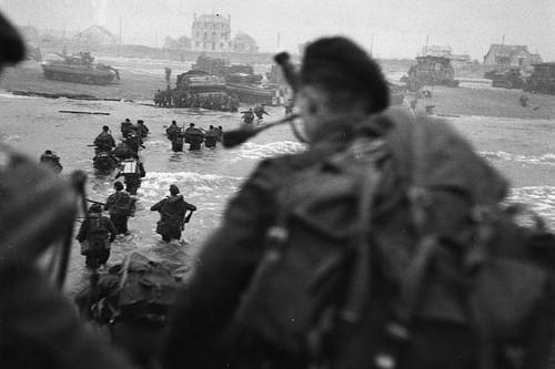 Bill Millin desembarca en Normandía
