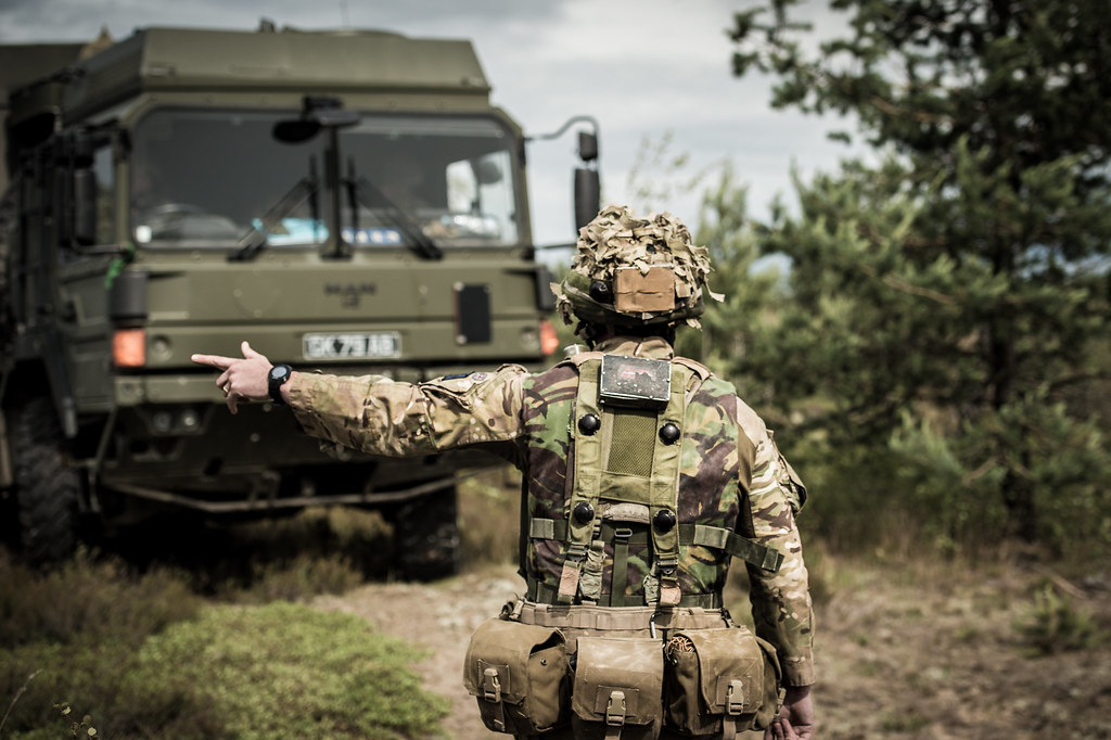 British Army working during the Field Training Exercise | Flickr