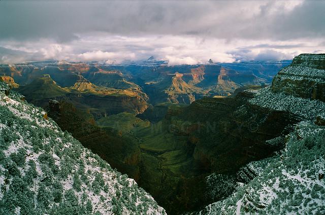 Grand Canyon Winter View