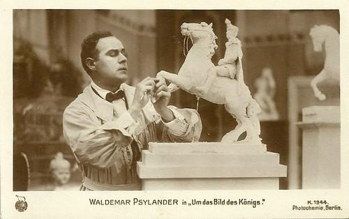Valdemar Psilander in Um das Bild des Königs (1919)