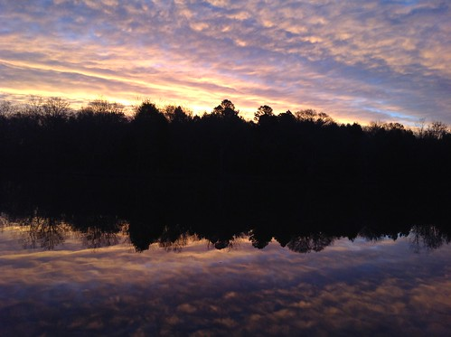 reflection sunrise northcarolina sunrisereflection harrisburgnc