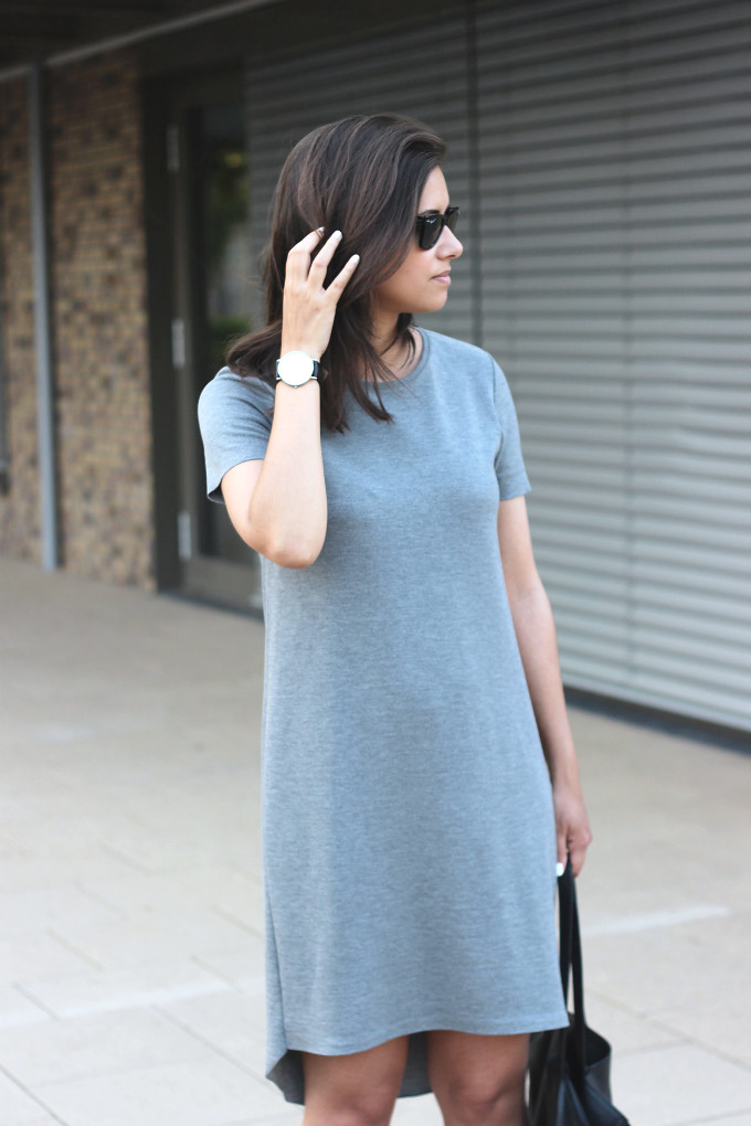 e84657c2ec Outfit-zara-grey-tshirt-dress | Shout- out to you | Flickr