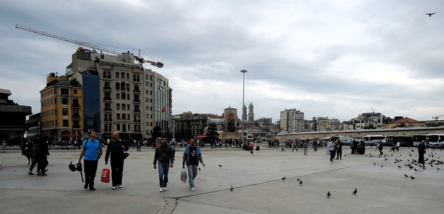 Taksim Square by bryandkeith on flickr