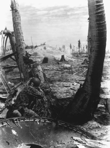 Marine en Tarawa