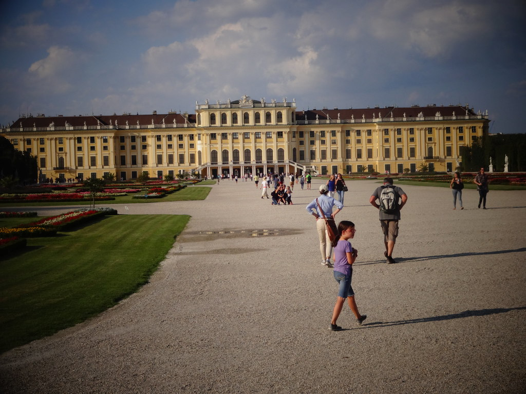 Wien, 13. Bezirk (Schloss Schönbrunn), Palacio de Schönbrunn, Schönbrunn Palace, Palazzo di Schönbrunn, le Palais de Schönbrunn (Schlosspark - castle park, parc du château, jardines del palacio, giardino del palazzo)