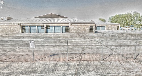 school sign trek google free drug wyoming hdr highdynamicrange zone streetview panamerican gillette wy photomatix gsv googlestreetview