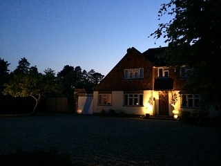 house-external-lighting-1 | by walkerelectricaluk