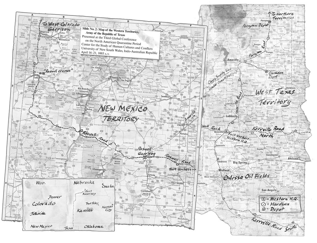 Map Of West Texas And New Mexico.West Texas New Mexico Map Thirty37seven Flickr