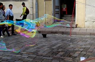 Blowing Bubbles !