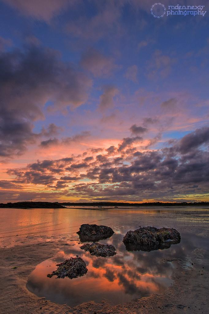 Kettle Cove Sunset - Cape Elizabeth, ME | Jeremy Weir | Flickr
