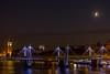 Mars, Moon and Saturn from Waterloo Bridge London. by Owen Llewellyn