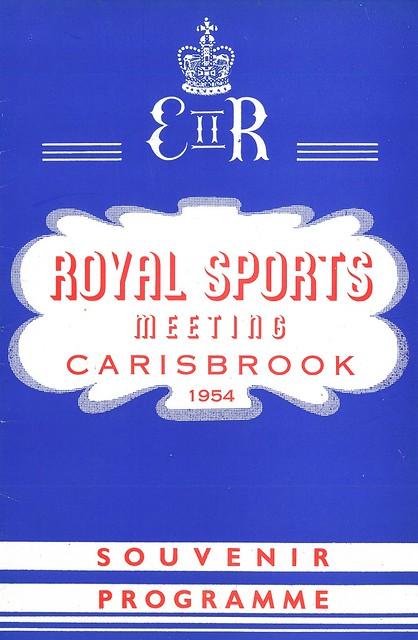 Royal Sports Meeting at Carisbrook 1954