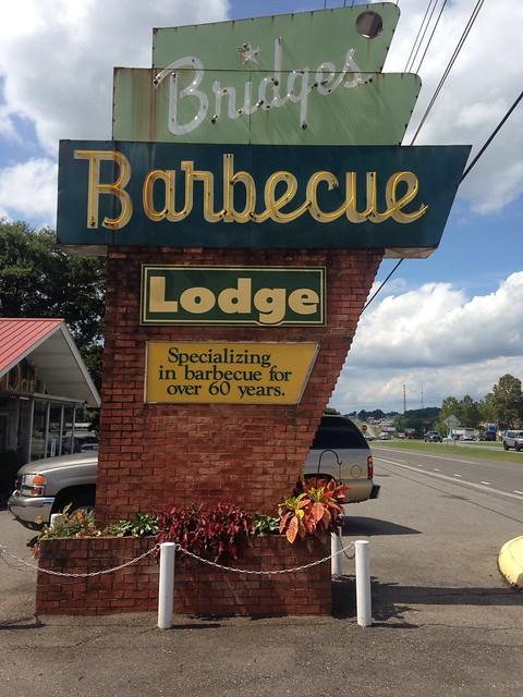 Bridges BBQ, Shelby, North Carolina