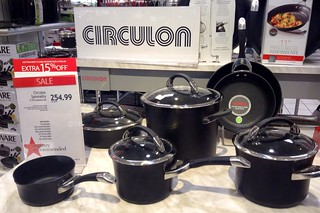 Circulon Cookware, 9/2014, pic by Mike Mozart of TheToyChannel and JeepersMedia on YouTube #Circulon #Cookware | by JeepersMedia