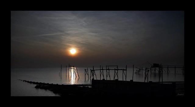La nuit tombe sur la Côte de Retz