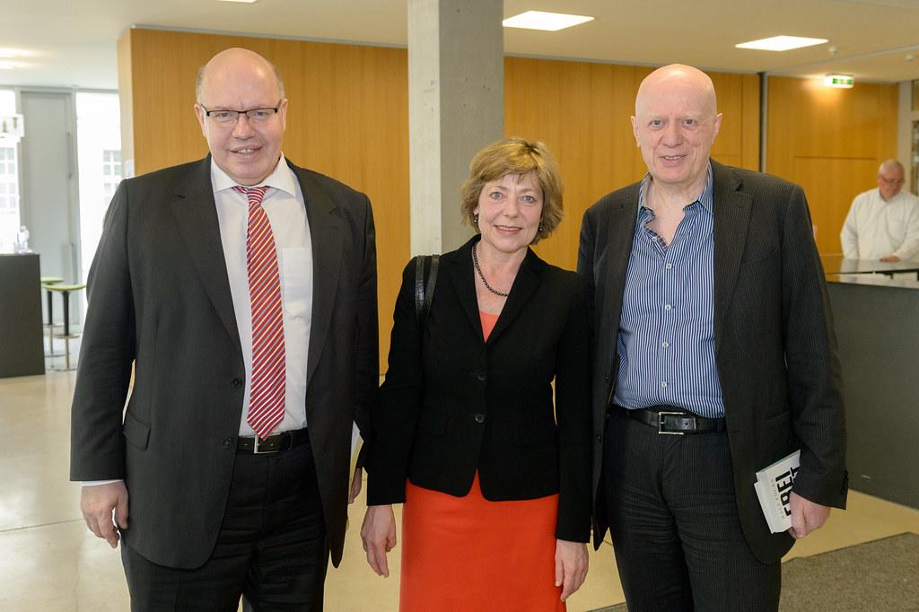 Peter Altmaier, Daniela Schadt, Ralf Fücks