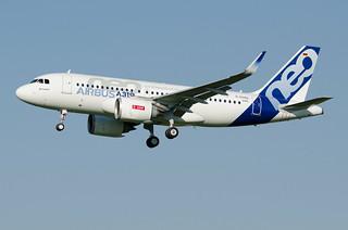 D-AVWA - Airbus A319 NEO - Airbus Flight Test - msn 6464   by TLS Plane Spotting