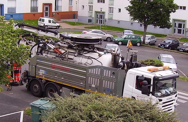 Veolia Environmental Services - Scania P380