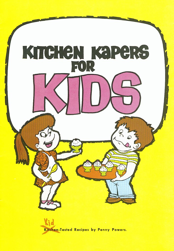 Kitchen Kapers For Kids Cookbook Cover In Addition To Mark Flickr