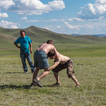 Mongolian Wrestling at Our Nadaam Festival