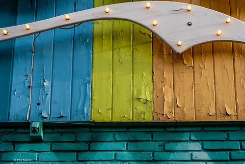 Detail of Lula Lounge front - Toronto   by Phil Marion