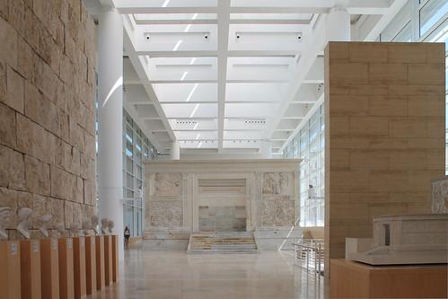 Museo delll'Ara Pacis- Meier   by Antonella Profeta