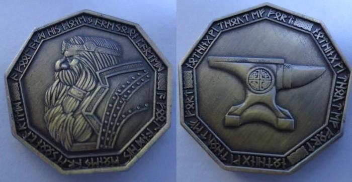 Dwarven Coin Set Gold by Fantasy Coin LLC | Fantasy Coins
