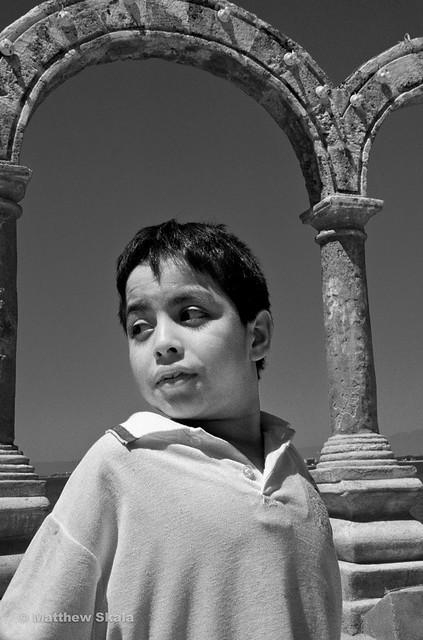 Boy at Los Arcos, Puerto Vallarta, Mexico