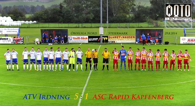 ATV Irdning 5:1 ASC Rapid Kapfenberg Oberliga Nord Steiermark © 2014 Bernhard Egger :: eu-moto images 1815