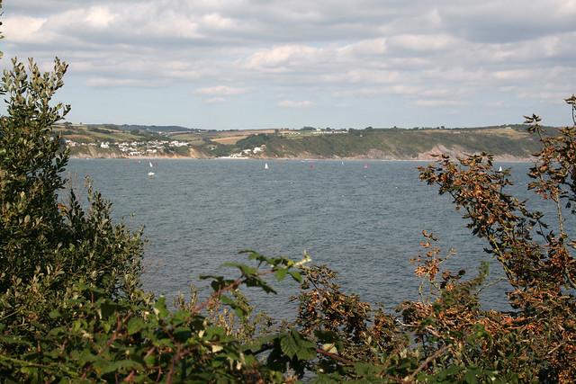The mainland from Looe Island