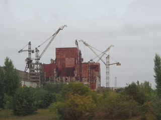 Unfinished Reactor 5 at Cehernobyl