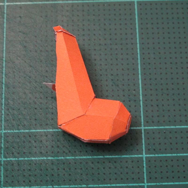 วิธีทำโมเดลกระดาษคุกกี้รัน คุกกี้รสเมฆ (Cookie Run Cloud Cookie  Papercraft Model) 004