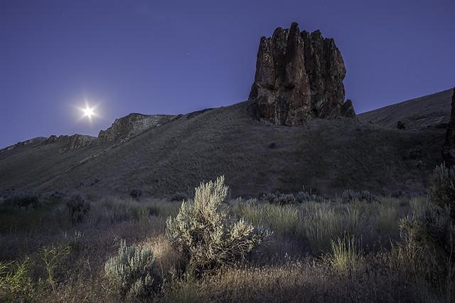 Owyhee moonrise