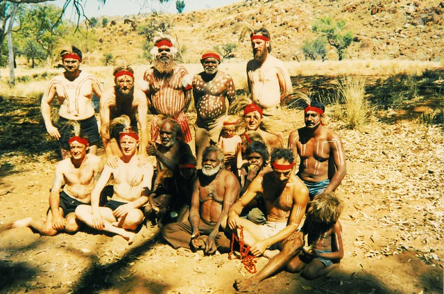 Initiation ceremony Angatja - the men